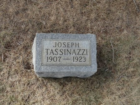 TASSINAZZI, JOSEPH - Colfax County, New Mexico | JOSEPH TASSINAZZI - New Mexico Gravestone Photos