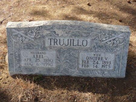 TRUJILLO, ONOFRE V - Colfax County, New Mexico | ONOFRE V TRUJILLO - New Mexico Gravestone Photos
