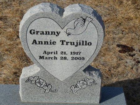 TRUJILLO, ANNIE - Colfax County, New Mexico | ANNIE TRUJILLO - New Mexico Gravestone Photos