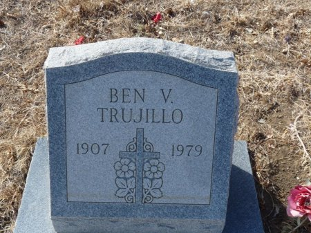 TRUJILLO, BEN V - Colfax County, New Mexico | BEN V TRUJILLO - New Mexico Gravestone Photos