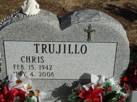 TRUJILLO, CHRIS - Colfax County, New Mexico | CHRIS TRUJILLO - New Mexico Gravestone Photos