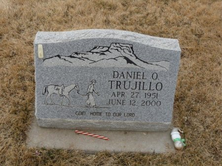 TRUJILLO, DANIEL O - Colfax County, New Mexico   DANIEL O TRUJILLO - New Mexico Gravestone Photos