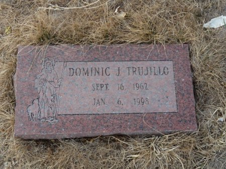 TRUJILLO, DOMINIC J - Colfax County, New Mexico | DOMINIC J TRUJILLO - New Mexico Gravestone Photos