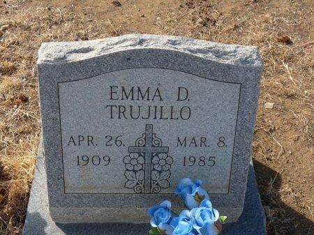 TRUJILLO, EMMA D - Colfax County, New Mexico   EMMA D TRUJILLO - New Mexico Gravestone Photos