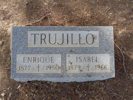 TRUJILLO, ISABEL - Colfax County, New Mexico | ISABEL TRUJILLO - New Mexico Gravestone Photos