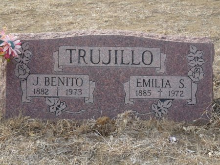 TRUJILLO, EMILIA S - Colfax County, New Mexico | EMILIA S TRUJILLO - New Mexico Gravestone Photos