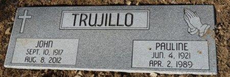 TRUJILLO, PAULINE - Colfax County, New Mexico | PAULINE TRUJILLO - New Mexico Gravestone Photos