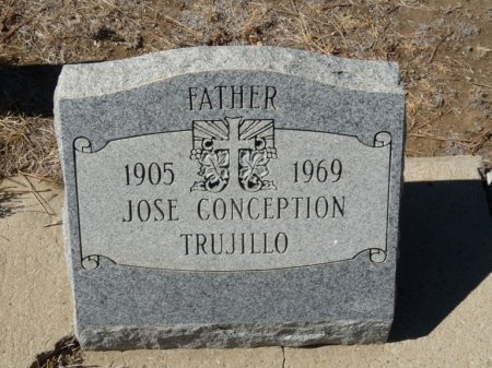 TRUJILLO, JOSE CONCEPTION - Colfax County, New Mexico | JOSE CONCEPTION TRUJILLO - New Mexico Gravestone Photos