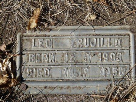 TRUJILLO, LEO - Colfax County, New Mexico   LEO TRUJILLO - New Mexico Gravestone Photos