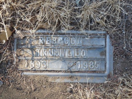 TRUJILLO, REBECCA - Colfax County, New Mexico   REBECCA TRUJILLO - New Mexico Gravestone Photos