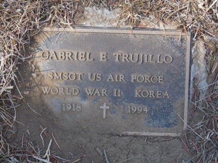 TRUJILLO (VETERAN WWII KOR), GABRIEL EMILIO (NEW) - Colfax County, New Mexico | GABRIEL EMILIO (NEW) TRUJILLO (VETERAN WWII KOR) - New Mexico Gravestone Photos