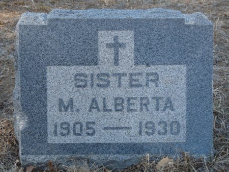 UNKNOWN, SISTER MARY ALBERTA - Colfax County, New Mexico | SISTER MARY ALBERTA UNKNOWN - New Mexico Gravestone Photos