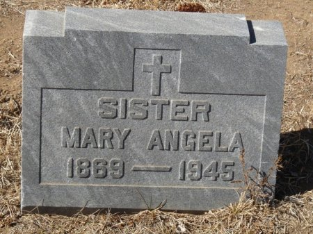 UNKNOWN, SISTER MARY ANGELA - Colfax County, New Mexico | SISTER MARY ANGELA UNKNOWN - New Mexico Gravestone Photos