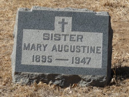 UNKNOWN, SISTER MARY AUGUSTINE - Colfax County, New Mexico | SISTER MARY AUGUSTINE UNKNOWN - New Mexico Gravestone Photos