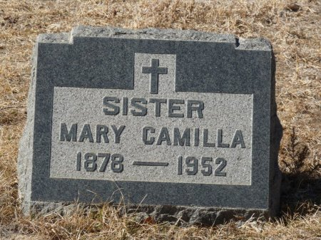 UNKNOWN, SISTER MARY CAMILLA - Colfax County, New Mexico   SISTER MARY CAMILLA UNKNOWN - New Mexico Gravestone Photos