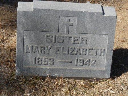 UNKNOWN, SISTER MARY ELIZABETH - Colfax County, New Mexico   SISTER MARY ELIZABETH UNKNOWN - New Mexico Gravestone Photos