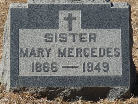 UNKNOWN, SISTER MARY MERCEDES - Colfax County, New Mexico | SISTER MARY MERCEDES UNKNOWN - New Mexico Gravestone Photos