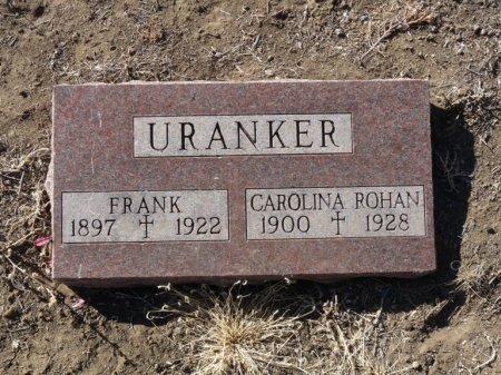 URANKER, CAROLINA - Colfax County, New Mexico | CAROLINA URANKER - New Mexico Gravestone Photos