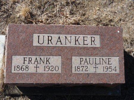 URANKER, PAULINE - Colfax County, New Mexico | PAULINE URANKER - New Mexico Gravestone Photos