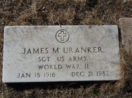 URANKER (VETERAN WWII), JAMES M (NEW) - Colfax County, New Mexico | JAMES M (NEW) URANKER (VETERAN WWII) - New Mexico Gravestone Photos