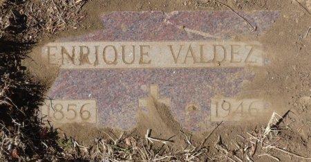 VALDEZ, ENRIQUE - Colfax County, New Mexico   ENRIQUE VALDEZ - New Mexico Gravestone Photos