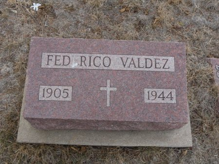 VALDEZ, FEDERICO - Colfax County, New Mexico | FEDERICO VALDEZ - New Mexico Gravestone Photos
