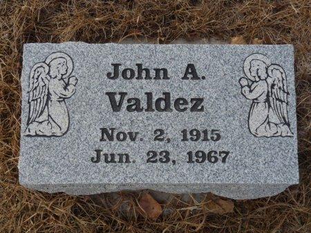 VALDEZ, JOHN A - Colfax County, New Mexico | JOHN A VALDEZ - New Mexico Gravestone Photos