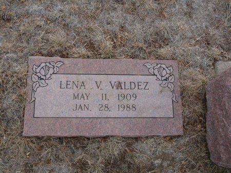 VALDEZ, LENA V - Colfax County, New Mexico | LENA V VALDEZ - New Mexico Gravestone Photos