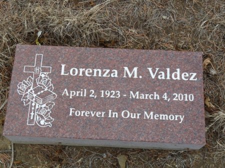 VALDEZ, LORENZA M - Colfax County, New Mexico | LORENZA M VALDEZ - New Mexico Gravestone Photos
