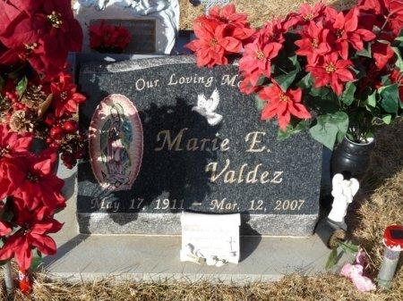 VALDEZ, MARIE E - Colfax County, New Mexico | MARIE E VALDEZ - New Mexico Gravestone Photos