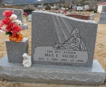 VALDEZ, MAX E - Colfax County, New Mexico   MAX E VALDEZ - New Mexico Gravestone Photos