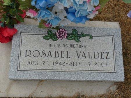 VALDEZ, ROSABEL - Colfax County, New Mexico   ROSABEL VALDEZ - New Mexico Gravestone Photos