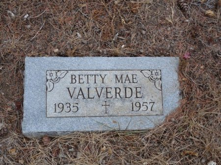 VALVERDE, BETTY MAE - Colfax County, New Mexico | BETTY MAE VALVERDE - New Mexico Gravestone Photos