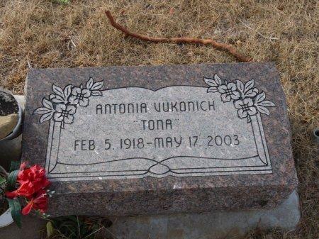 """VUKONICH, ANTONIA """"TONA"""" - Colfax County, New Mexico   ANTONIA """"TONA"""" VUKONICH - New Mexico Gravestone Photos"""