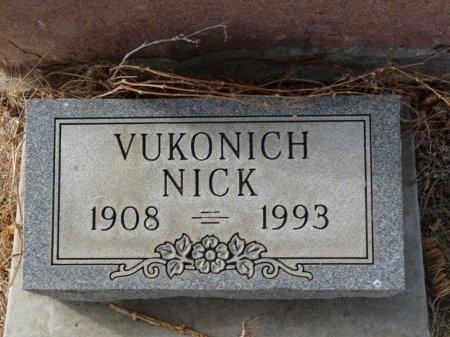 VUKONICH, NICK - Colfax County, New Mexico   NICK VUKONICH - New Mexico Gravestone Photos
