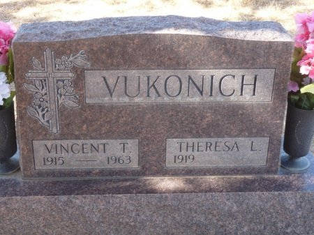 VUKONICH, THERESA LUCILLE - Colfax County, New Mexico | THERESA LUCILLE VUKONICH - New Mexico Gravestone Photos