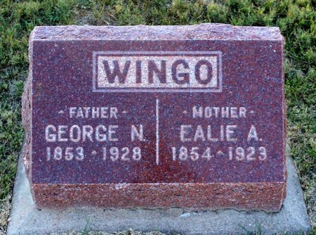 WINGO, GEORGE N. - Colfax County, New Mexico | GEORGE N. WINGO - New Mexico Gravestone Photos