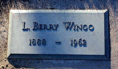 WINGO, L. BERRY - Colfax County, New Mexico | L. BERRY WINGO - New Mexico Gravestone Photos