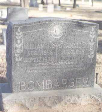 BOMBARGER, FANNIE E. - Curry County, New Mexico | FANNIE E. BOMBARGER - New Mexico Gravestone Photos