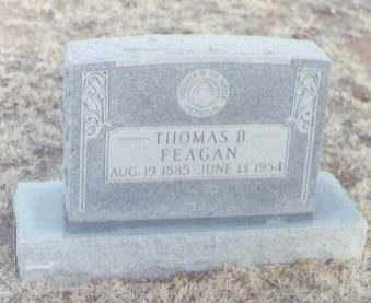 FEAGAN, THOMAS B. - Curry County, New Mexico | THOMAS B. FEAGAN - New Mexico Gravestone Photos