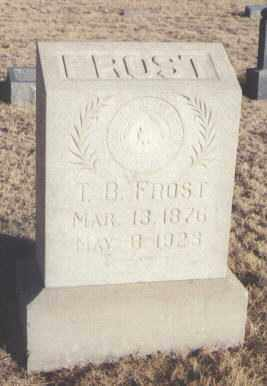 FROST, T. B. - Curry County, New Mexico | T. B. FROST - New Mexico Gravestone Photos