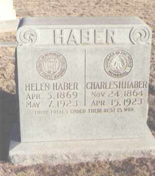 HABER, CHARLES H - Curry County, New Mexico | CHARLES H HABER - New Mexico Gravestone Photos