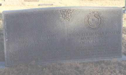 HOUSTON, JOHN THOMAS - Curry County, New Mexico | JOHN THOMAS HOUSTON - New Mexico Gravestone Photos