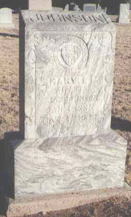 JOHNSON, MARY E. - Curry County, New Mexico | MARY E. JOHNSON - New Mexico Gravestone Photos