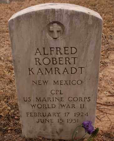 KAMRADT, ALFRED ROBERT - Curry County, New Mexico | ALFRED ROBERT KAMRADT - New Mexico Gravestone Photos