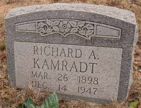 KAMRADT, RICHARD A. - Curry County, New Mexico | RICHARD A. KAMRADT - New Mexico Gravestone Photos