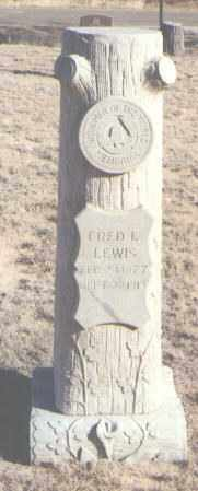 LEWIS, FRED L. - Curry County, New Mexico | FRED L. LEWIS - New Mexico Gravestone Photos