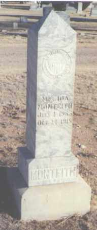 MONTEITH, MRS. IDA - Curry County, New Mexico | MRS. IDA MONTEITH - New Mexico Gravestone Photos