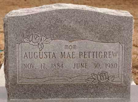 PETTIGREW, AUGUSTA MAE - Curry County, New Mexico | AUGUSTA MAE PETTIGREW - New Mexico Gravestone Photos
