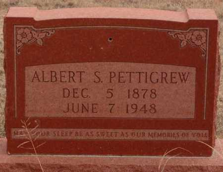 PETTIGREW, ALBERT S. - Curry County, New Mexico | ALBERT S. PETTIGREW - New Mexico Gravestone Photos